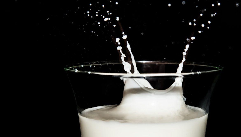 Die Erklärung warum Milch weiß ist